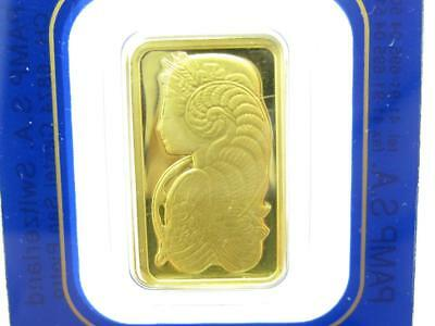 PAMP Suisse Lady Fortuna Five Gram 5 g 999.9 Fine Gold Bar