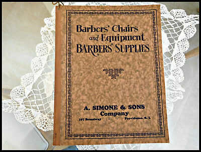 Antique 1928 Koken Illustrated Barbershop/barber Supply/supplies Catalog~Rare