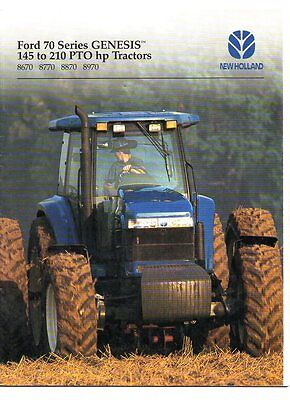 Ford new holland genesis tractor brochure 1995