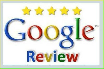 (1)ONE- 5 stars google review for Business -100% REAL PEOPLE - SEO LIFETIME SAFE