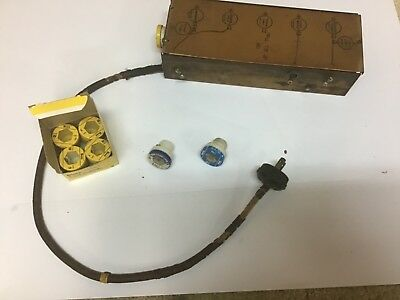 Wurlitzer juke box junction box with extra fuses