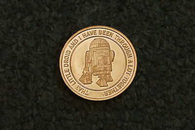 Star Wars Münze, madame tussauds london Coin