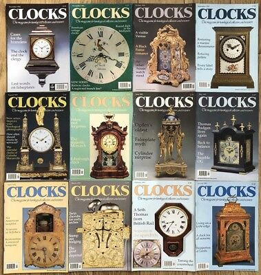 CLOCKS magazine. 1992 Jan To Dec