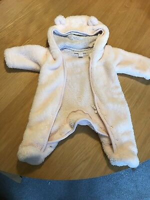 the little white company Newborn Girls Pram Suit