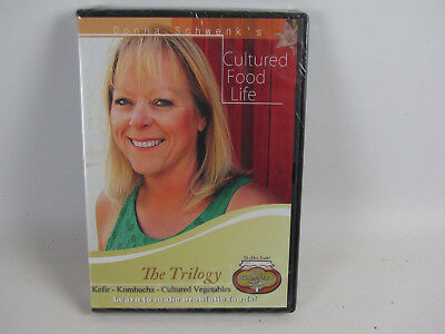 Cultured Food Life The Trilogy - Make Kefer, Kombucha & Cultured Vegetables DVD