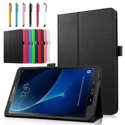 """Folio Leather Stand Cover Case For Samsung Galaxy Tab E 7"""" 8"""" 9.6"""" T560 Tablet"""