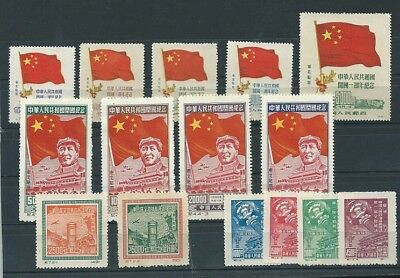 VR-China, NORDOST-China, 4 compl.sets,postfrisch,mint,look scan