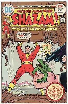Shazam! #18 VF/NM 9.0 ow/white pages  Captain Marvel  DC  1975  No Reserve