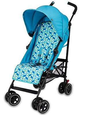 Mothercare Nanu Aqua Pushchair Excellent Condition with raincover