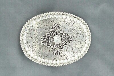 Rhinestone Cowgirl ~LARGE CRYSTAL Western Belt Buckle~ 37546 17