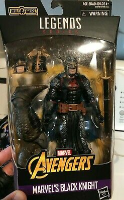 "Marvel Legends 6"" Black Knight New Sealed w/ Cull Obsidian BAF Infinity War"
