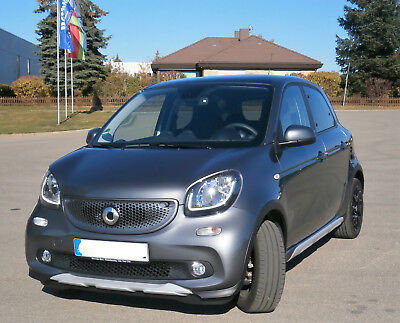 smart forFour 66kW Turbo Twinamic Edition Crosstown