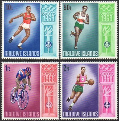 MALDIVE ISLANDS 1968 Olympic Games, Mexico (2nd Issue) CV £13+ MNH