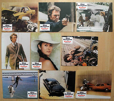 Clint Eastwood Dirty Harry II: Calahan / Magnum Force - 9 EA Aushangfotos