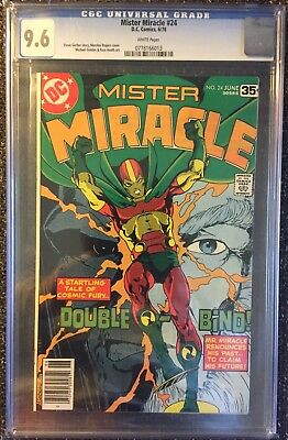 Mister Miracle # 24 (1978) CGC 9.6 NM+! DC Comics! White pages! New Gods!