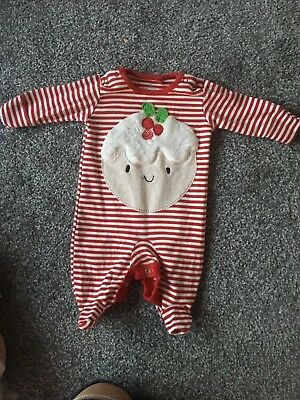 Girls Next Christmas Romper Age Newborn