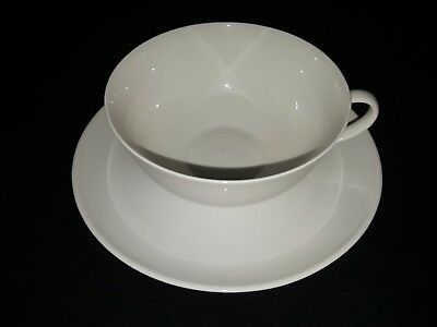 Arzberg  White cup and saucer #153