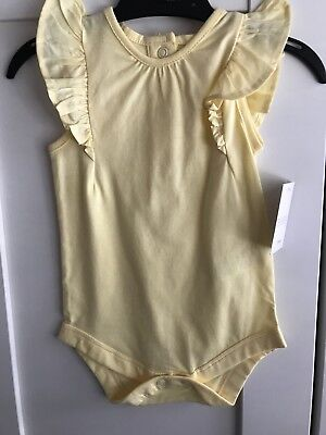 3-6 Months Girls Fancy Vest / Romper Brand New With Tags Matalan