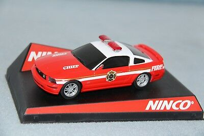 """Ninco 27177 Evolution Ford Mustang Gt """"fire Chief"""