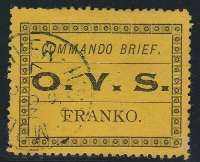 OFS 1899 Military Frank stamp, SG M1, fine used, cat £60