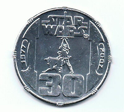 STAR WARS Celebration Europe 2007 Give Away Coin guter Zustand