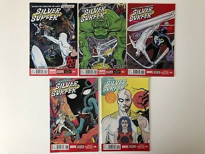 Silver Surfer 4 5 6 8 12 Marvel Comics Allred 2014