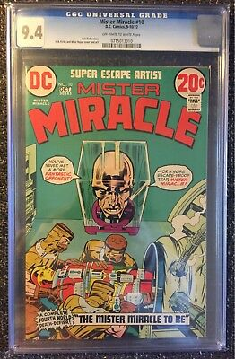 Mister Miracle #10 (1972) CGC 9.4 NM! New Gods! Jack Kirby DC classic!