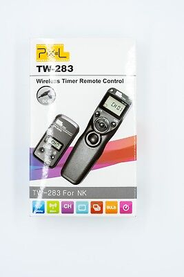 Pixel TW-283/DC0 LCD Wireless Timer Shutter Release Remote Control for Nikon DC0