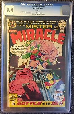 Mister Miracle #8 (1972) CGC 9.4 NM! New Gods! Jack Kirby DC classic!