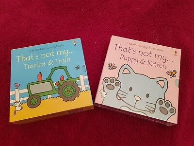 That's Not My Book Bundle BRAND NEW X4 Books Christmas present