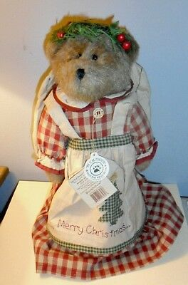 BOYDS BEARS ANNALEE ANGELBERRY Christmas Tree Topper NEW