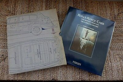 Rolls Royce Motor Cars & Bentley From 1931 The Complete Story Schrader Book