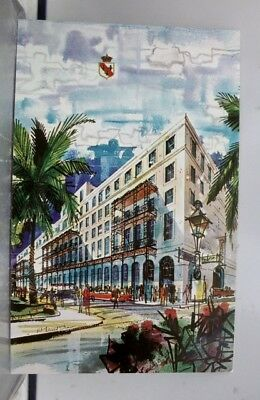 Louisiana LA New Orleans Royal French Quarter Postcard Old Vintage Card View PC