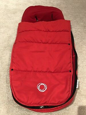 Bugaboo Cameleon Red footmuff