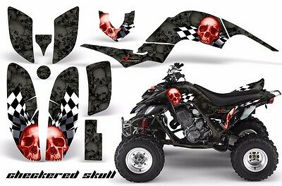 ATV Decal Graphic Kit Quad Sticker Wrap For Yamaha Raptor 660 2001-2005 CS R K