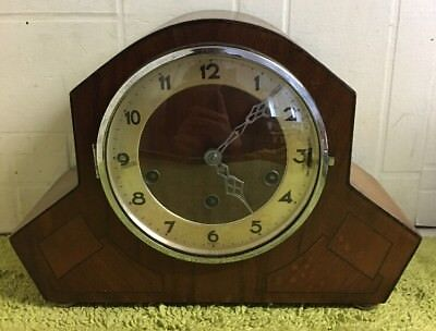 Lovely Antique Westminster Chime Mantel Clock