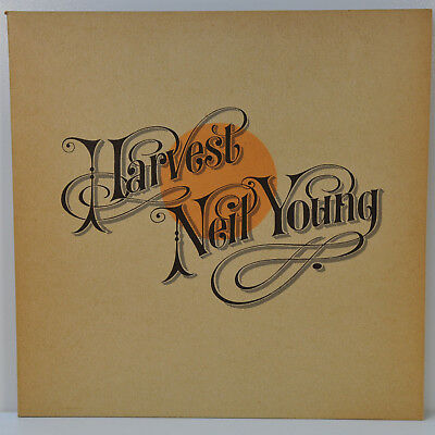 NEIL YOUNG *HARVEST* Reprise Gatefold-Cover Text-Insert // sehr gut