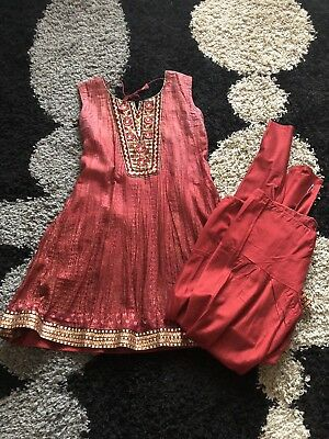 Ladies Indian Punjabi Suit Will Fit Size 12/medium