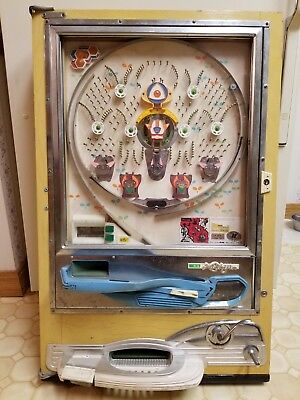 Vintage NISHIJIN DX  Pachinko Slot Machine Pinball w/ Balls - Japan