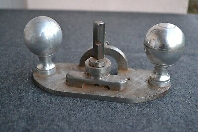vintage hand router with blade