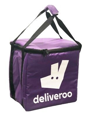 Sac isotherme Deliveroo 35cm x 26cm x 35cm Purple FOOD DELIVERY