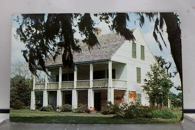 Louisiana LA Acadian House Museum St Martinsville Postcard Old Vintage Card View