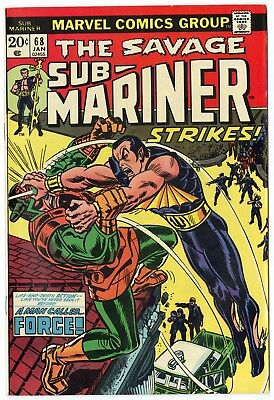 Sub-Mariner #68 NM- 9.2 white pages  Marvel  1974  No Reserve