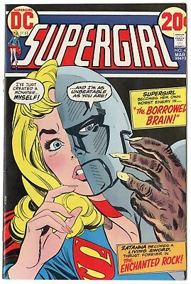 Supergirl #4 NM- 9.2 white pages  DC  1973  No Reserve