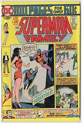 Superman Family #169 NM- 9.2 ow/white pages  100 Page Giant  DC 1975  No Reserve