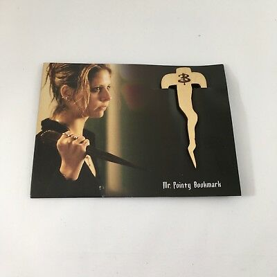 NEW Buffy the Vampire Slayer Mr Pointy Bookmark Loot Crate Exclusive