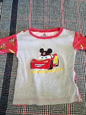 Disney Parks Authentic Cars Lightning Mcqueen Mater Youth size 6