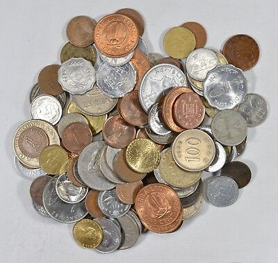 Roughly a POUND of Mixed World Coins - Great Mix *191