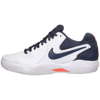 006725c8e430 Nike Air Zoom Resistance Mens Tennis Shoes White Blue 918194-148 Size 10.5