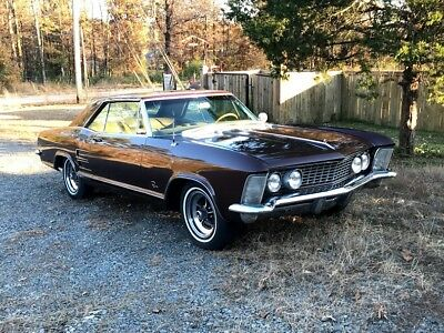 1964 Buick Riviera  1964 Buick Riviera 425 CID Dual 4 barrel carb air conditioning eight track